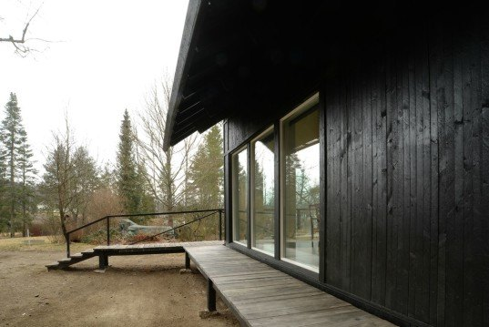 Samurai House, Helsinkizurich architects, Villa Samurai, Finnish architecture, home design, pitched roof, slanted roof, villa samurai roof design, roof design, green design, sustainable design, wooden homes, home renovation, log homes, log cabins