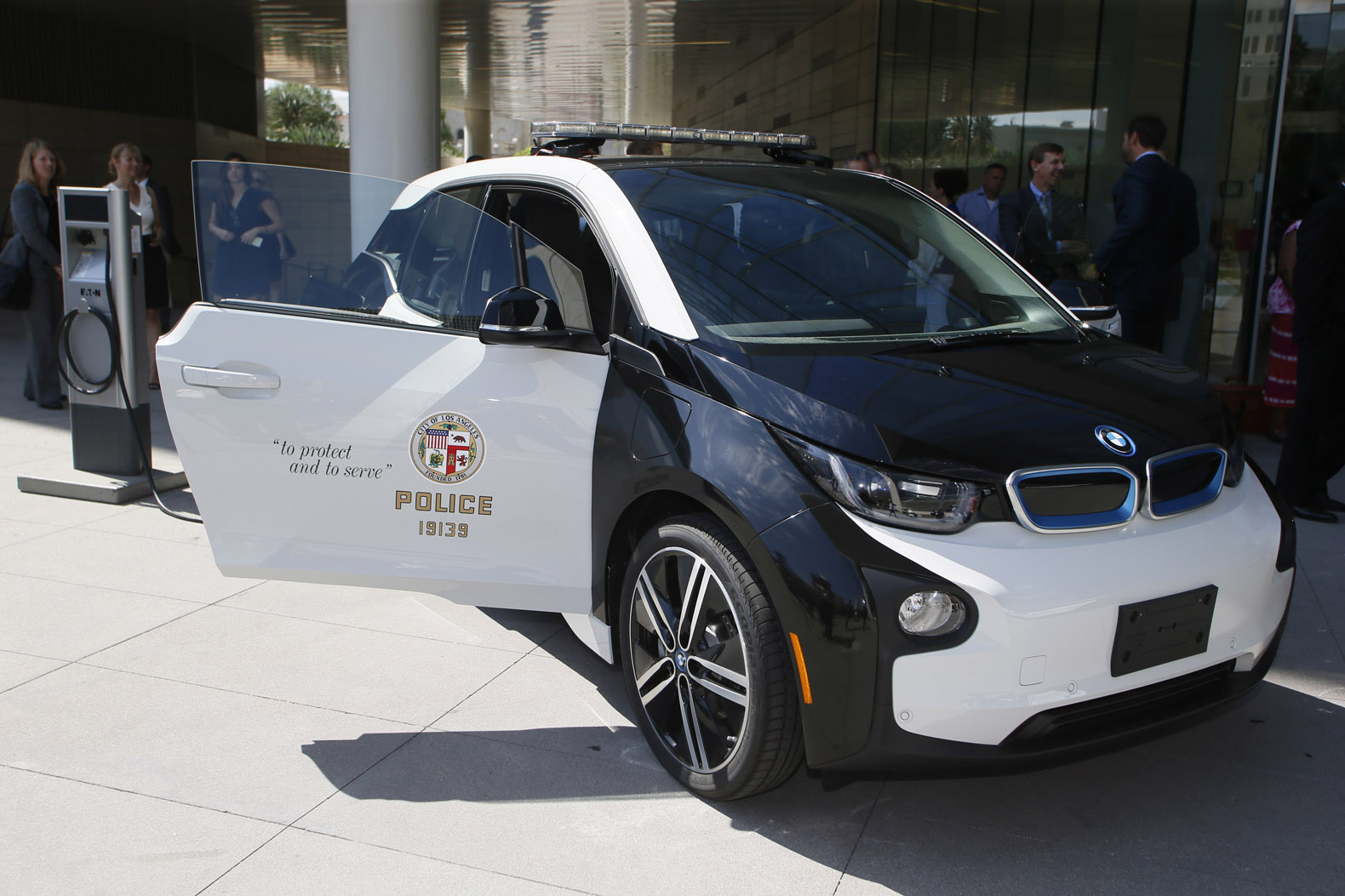 Los Angeles will soon boast the largest electric vehicle fleet in the US