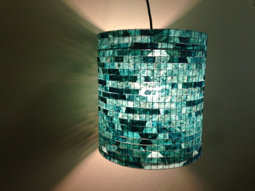 Lampada are lampshades made out of used coffee filters inhabitat lampada are lampshades made out of used coffee filters mozeypictures Images