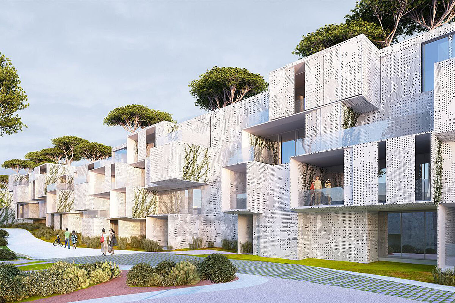 Green Building Ideas Part - 32: Spectacular Green-roofed Modular Tangier Bay Housing Offers Enviable Views  Of The Atlantic