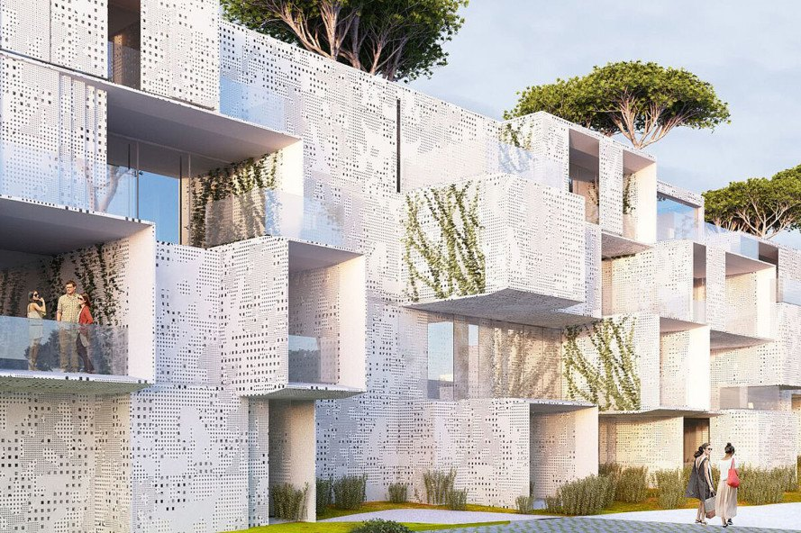 Malka architecture tangier bay housing inhabitat green for House construction cost bay area