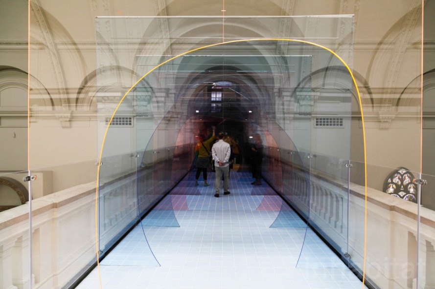 Enchanting Mise En Abyme Swallows Visitors Into A Colorful