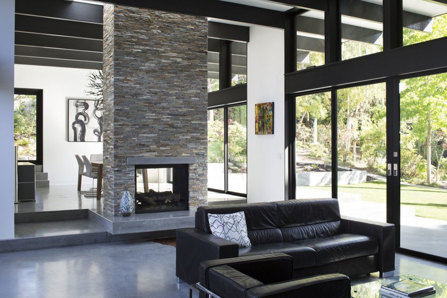 modern atrium house klopf architecture inhabitat green. Black Bedroom Furniture Sets. Home Design Ideas