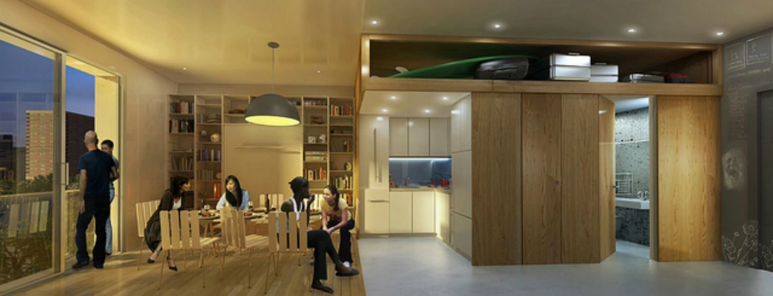 Apply to live in Manhattan's first micro apartments for as low as $950 a month