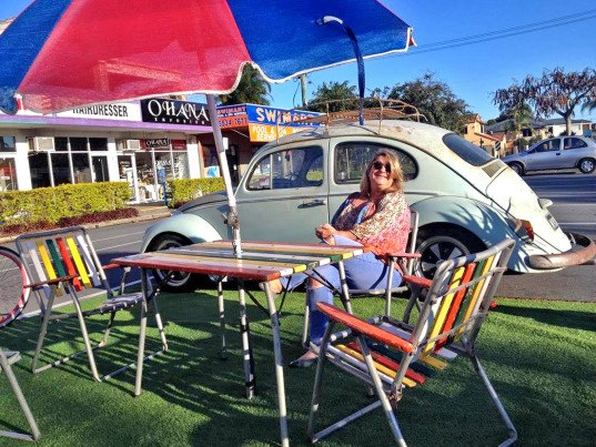 Palm Beach, Queensland Parking Day, parking day, Park(ing) Day, parking day 2015, Park(ing) Day 2015, pop-up park, green infrastructure, public space, urban design, landscape architecture, eco art, green art, sustainable design, green design, green events, parklet, parking spot