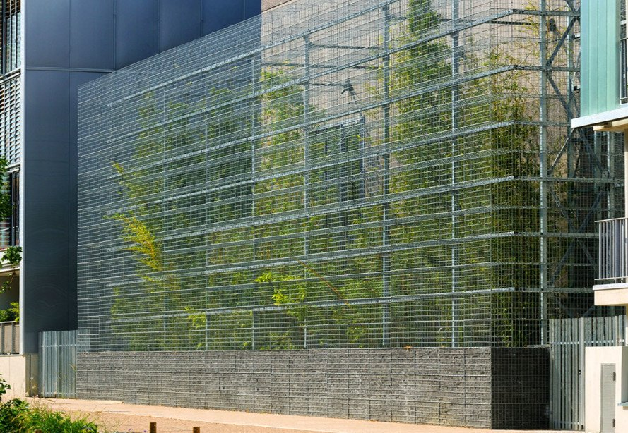 Lyon S Green Roofed Electrical Substation Extension