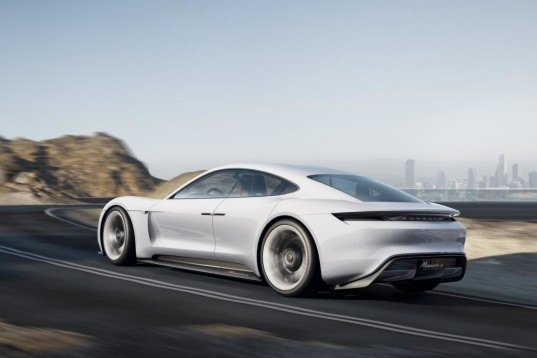 Porsche, porsche mission e concept, 2015 frankfurt motor show, porsche electric car, green car, electric car, electric motor, tesla, tesla model s, green car, green transportation