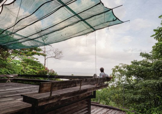 off-the-grid house, SaLo house, Panama, Patrick Dillon, sustainable house, passive house, salvaged materials, rainwater harvesting, rainwater cistern, swimming pool, natural ventilation, clean energy