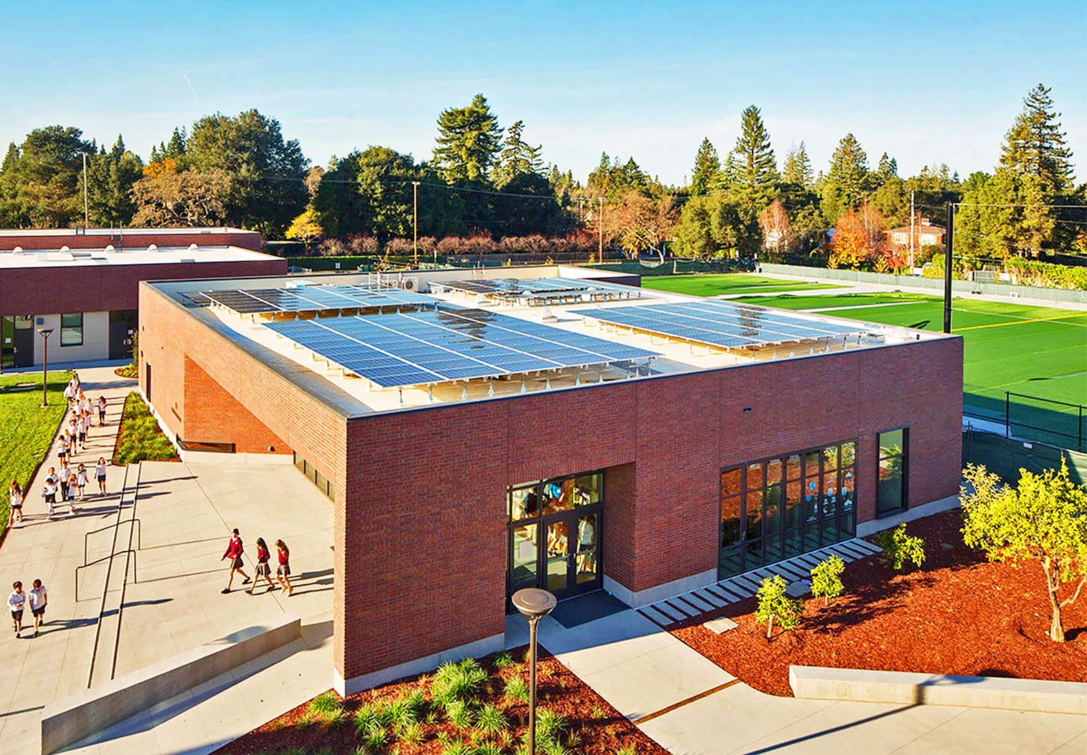 Californias Stevens Library Is The Very First Net Zero Energy In US