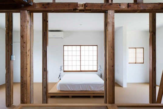 Jo Nagasaka, Schemata studio, home renovation, House in Hatogaya, old wooden structure, Japanese architecture,