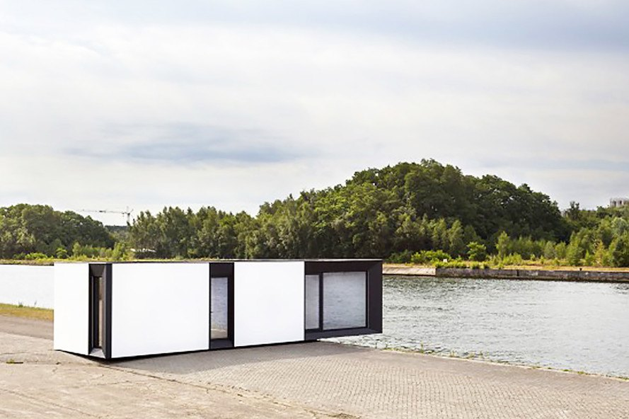 Skilpod micro houses are zero or plus energy homes you can for Homes plus designers builders inc