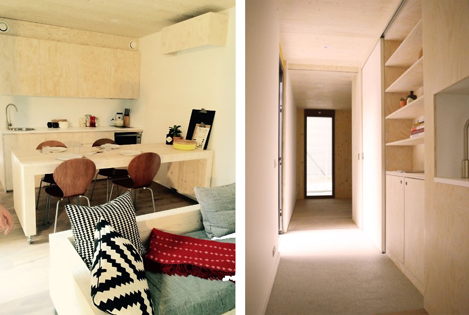Skilpod micro houses are zero or plus energy homes you can rent in Belgium