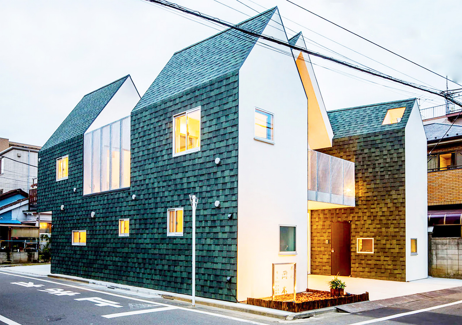 Starpilots Shingle Clad Housecut In Tokyo Was Built To Shrink Size