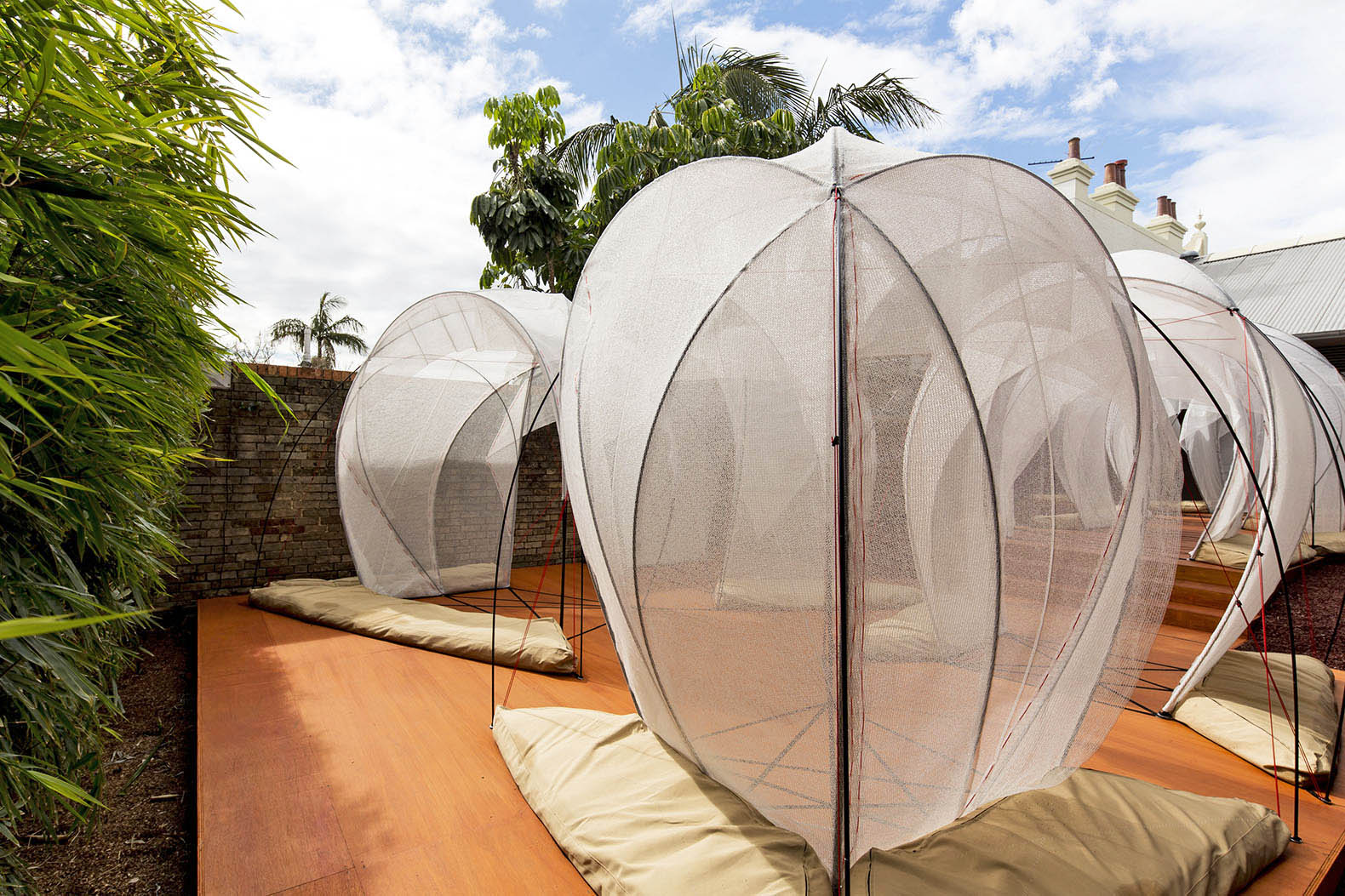Old Testament nomadic tents recreated in Tel Aviv with high-tech materials & Temporary Housing | Inhabitat - Green Design Innovation ...