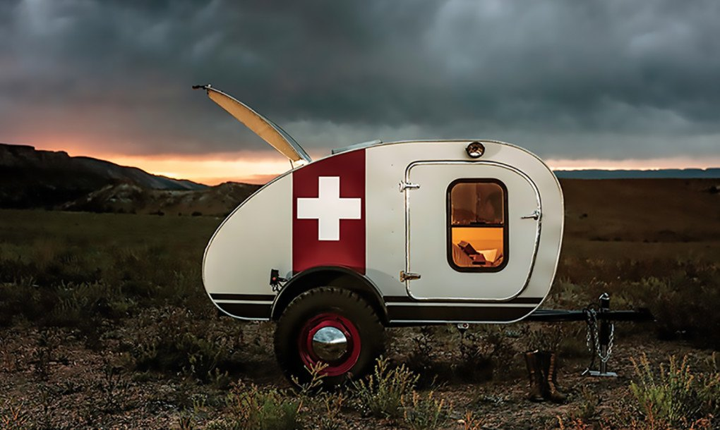 Solar Powered Vintage Overland Caravan Is Tough Enough To