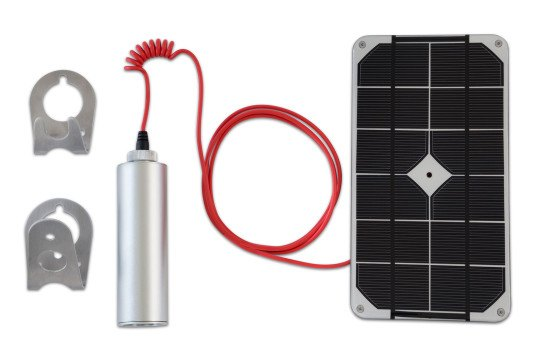Voltaic Shine, Shine, Shine solar light charger, portable USB charger, Kickstarter, renewable energy, portable solar panel, portable solar LED, waterproof LED light, waterproof solar panel, cree LED, green Kickstarter projects, green tech