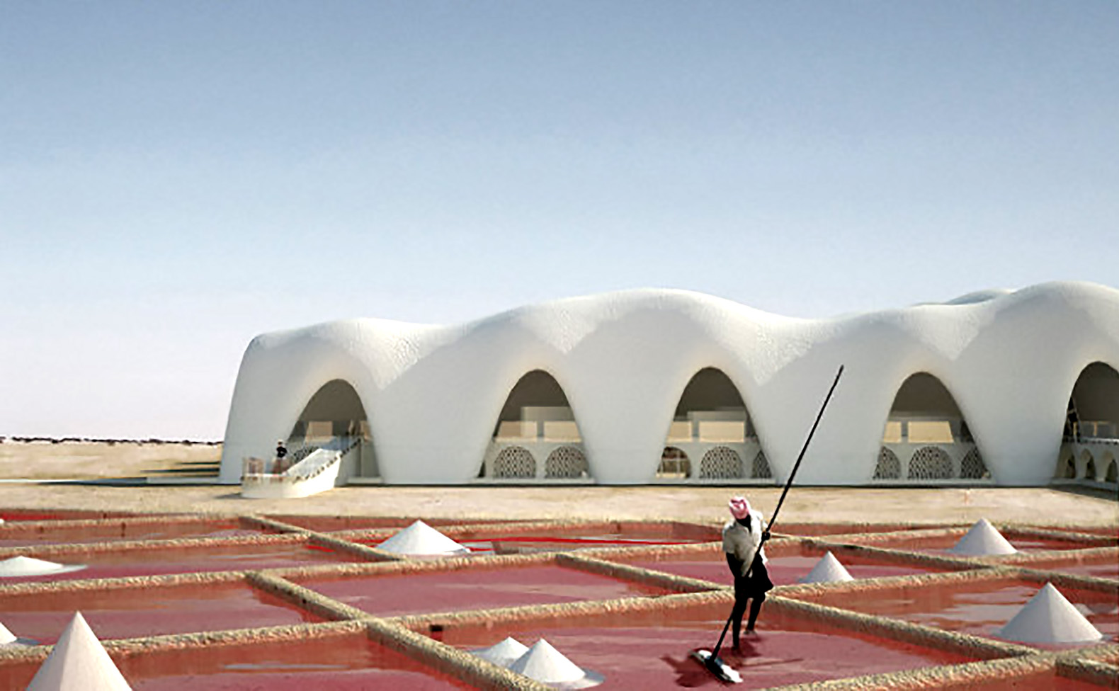 Dutch architect envisions self-sufficient desert cities constructed from salt