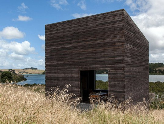eyrie cabins, cheshire architects, new zealand vacation home, vacation cabins, tiny home, tiny house, tiny cabin