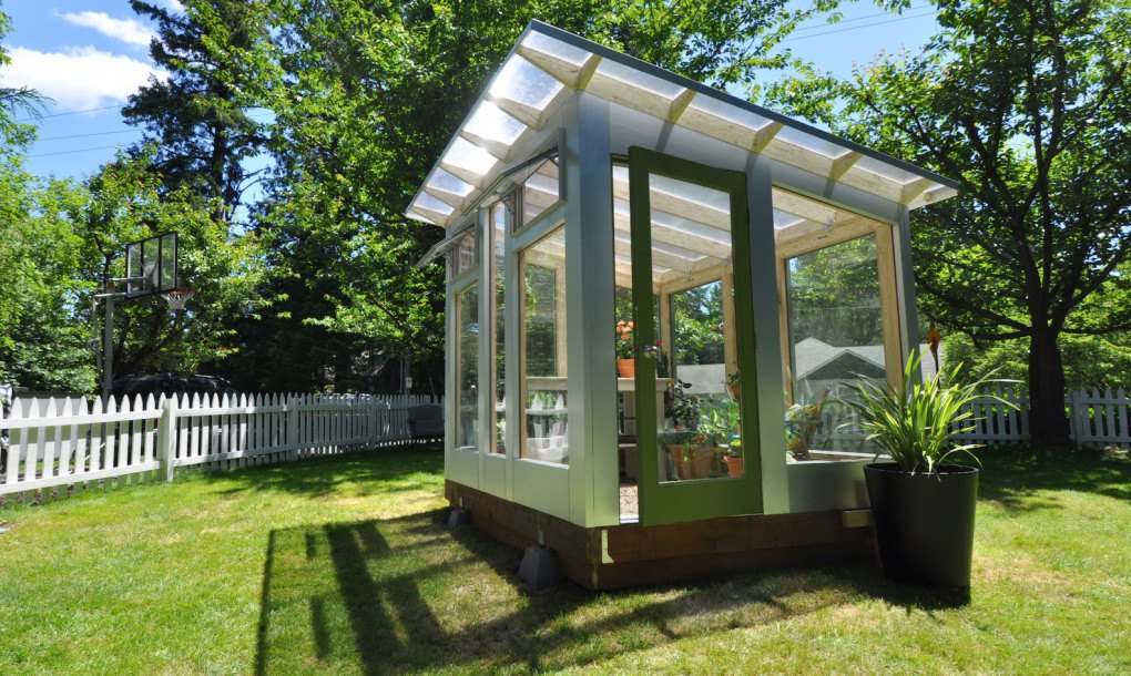 Studio Sprout S Backyard Greenhouse Combines Beautiful