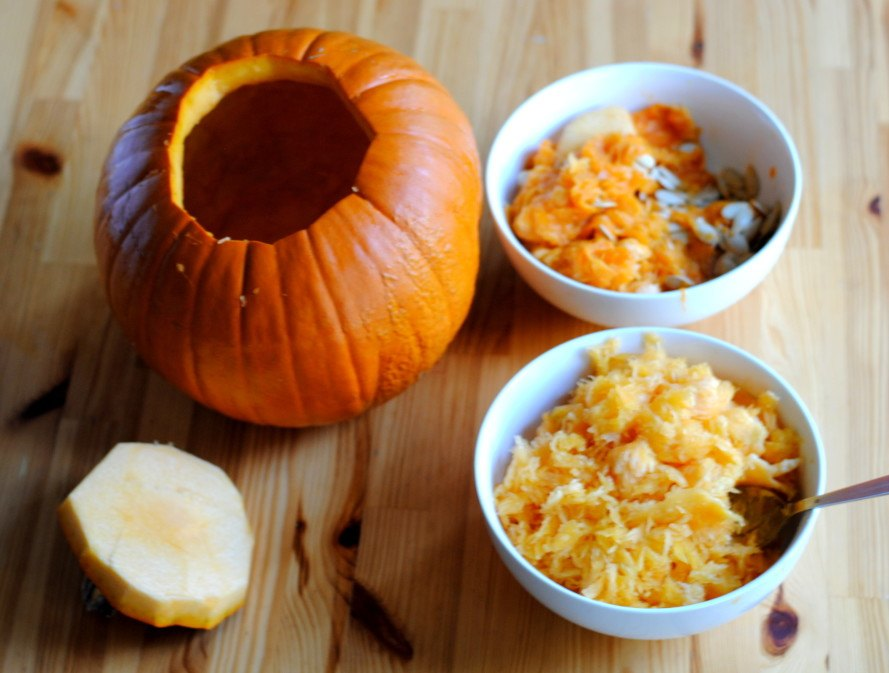 recipe, how to, fall, autumn, cooking, DIY, pumpkin, soup, tureen, thanksgiving, halloween, kitchen
