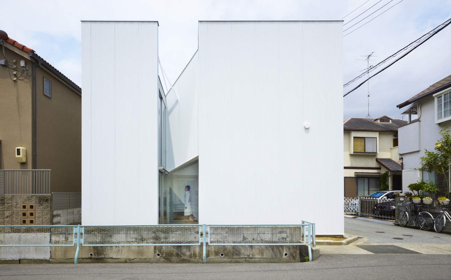 Attractive Slice Of The City Home In Japan Uses Bold Angles To Solve Tricky Space  Restrictions Great Ideas
