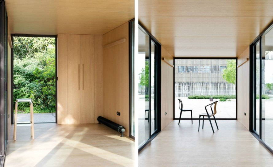 Kiosque, Bouroullec brothers, container design, modular container structures, container homes, container office space, urban building, urban design, modular homes, modular offices, sustainable design, green design, alternative building materials,