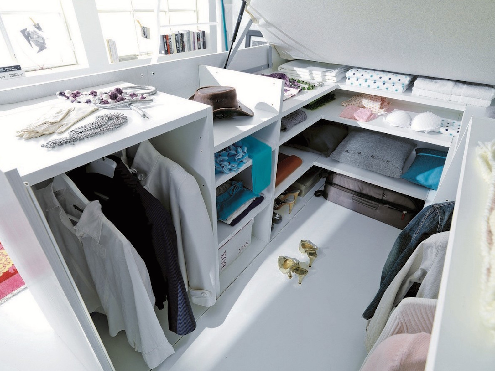 Ecolegno, Dielle, Container Bed, Container Bed By Dielle, Modular Furniture,  Multifunction