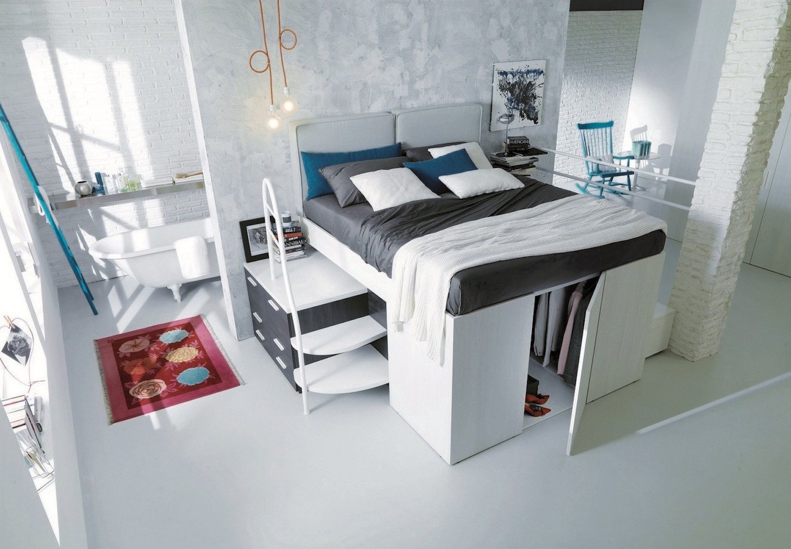Beds That Save Space space saving furniture | inhabitat - green design, innovation