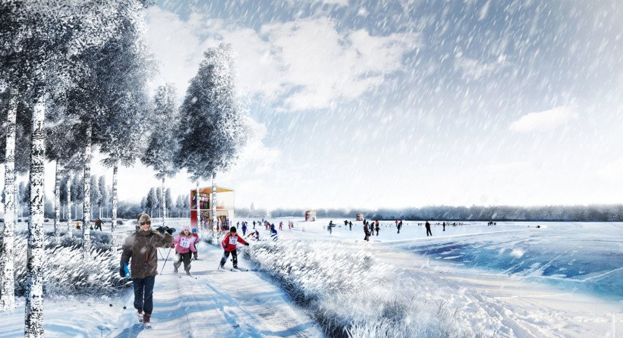 Turenscape, MAP Architects, Russia, landscape architecture, green infrastructure, architecture competition, public transportation, biodiversity, wastewater purification, water issues
