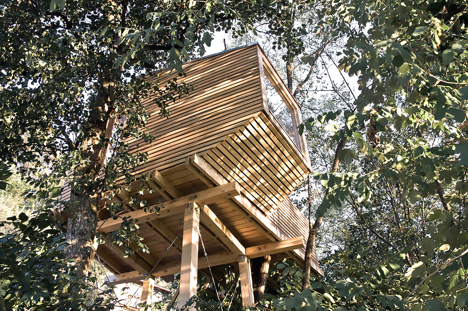 Tiny Wooden Cabin On Stilts Is A Cozy Escape In The Trees Inhabitat Green Design Innovation Architecture Building