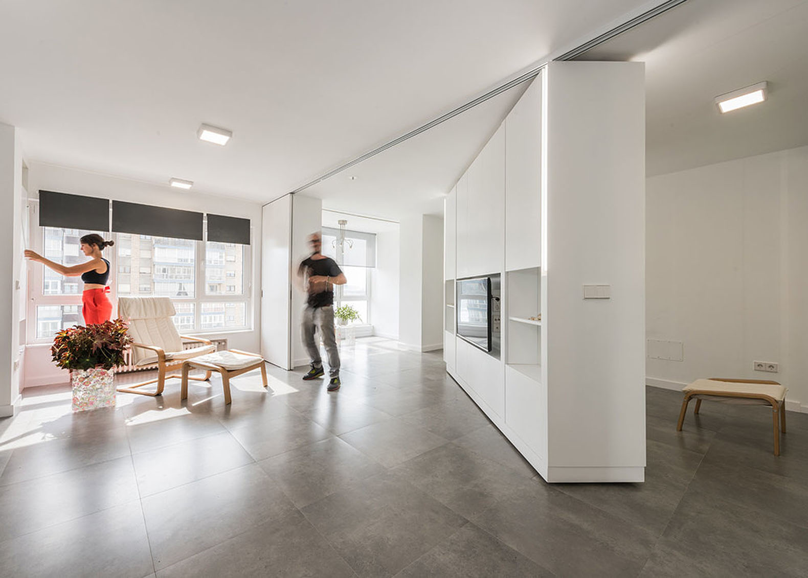 Rotating Walls And Transforming Furniture Make Two Rooms Vanish In The  U201cLittle Bigu201d MJE House