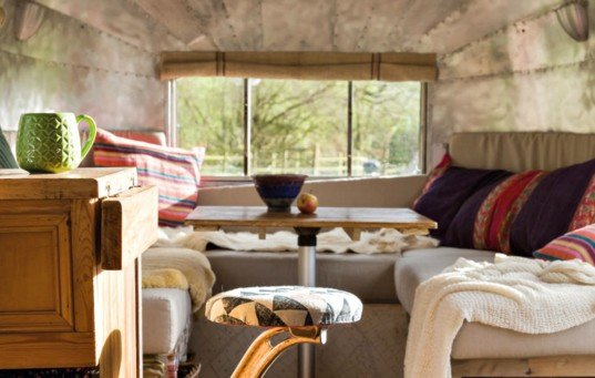 Mark and Charlotte Mabon Airstream Renovation
