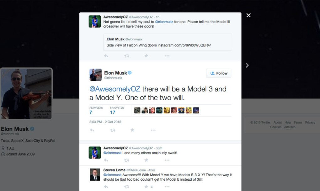 Model Y Twitter: Tesla's Elon Musk Tweets, But Quickly Deletes, About A New