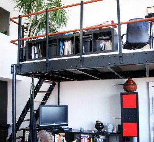 Add luxury to your tiny apartment with a DIY loft for only 19