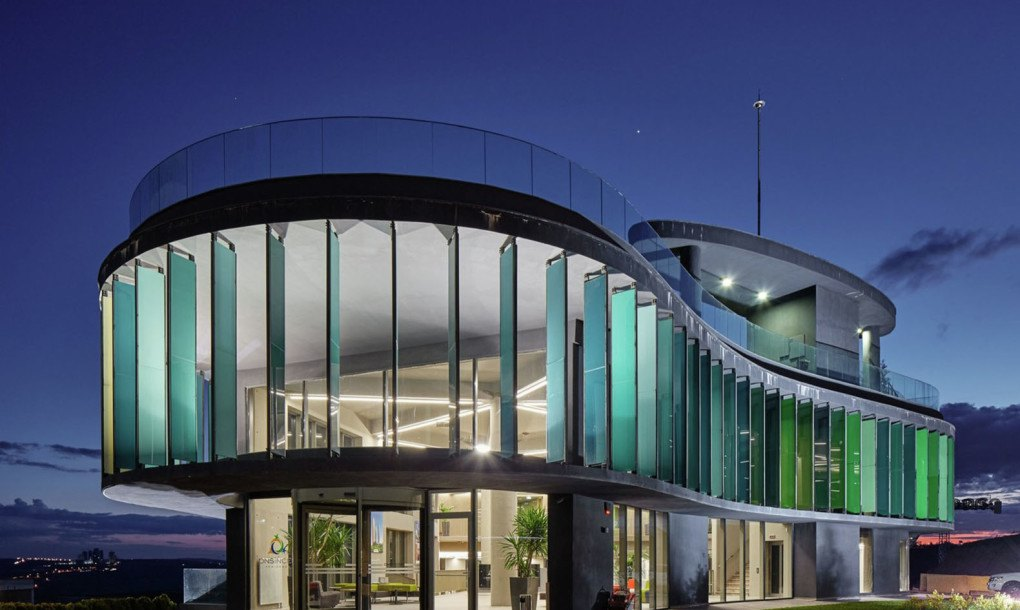 ONS Inceks apartment showroom in Turkey is wrapped in colorful