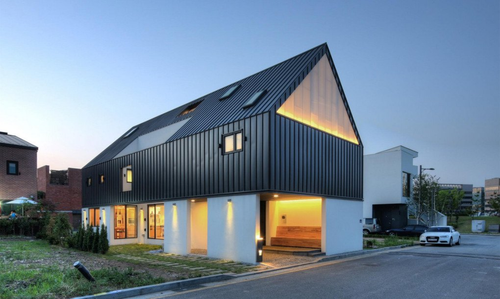 Daylit Family House In South Korea Combines Inclusiveness