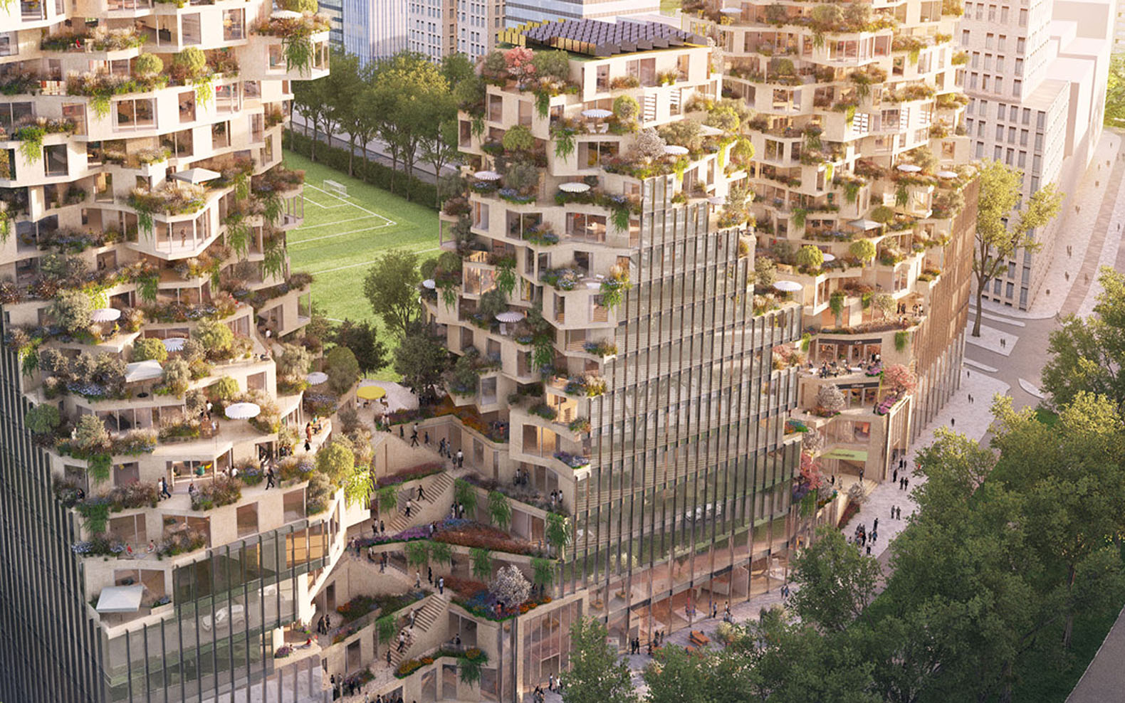 Build A House Mvrdv And Ovg Win Competition To Design Amsterdam S Ravel