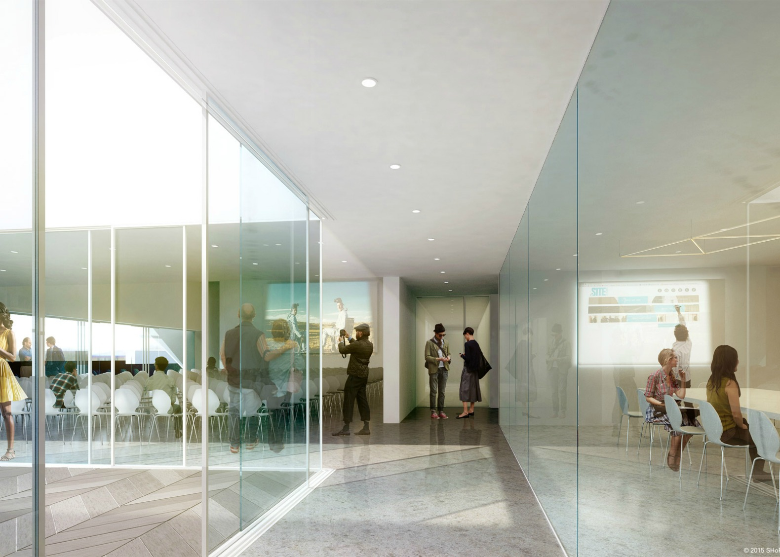 How to design an art gallery - Shop Architects Site Santa Fe Gallery New Mexico Gallery Gallery Design Architecture