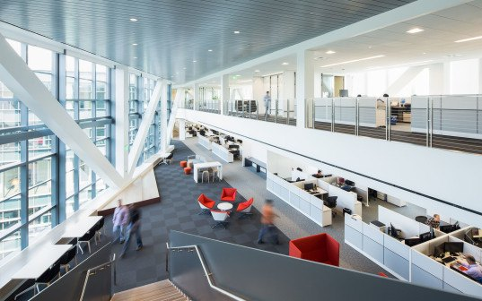 NBBJ, Samsung North American Headquarters, Silicon Vallay, LEED Gold, LEED certification, Samsung HQ, natural ventilation, LED lighting, recycled water, low-flow fixtures, green architecture