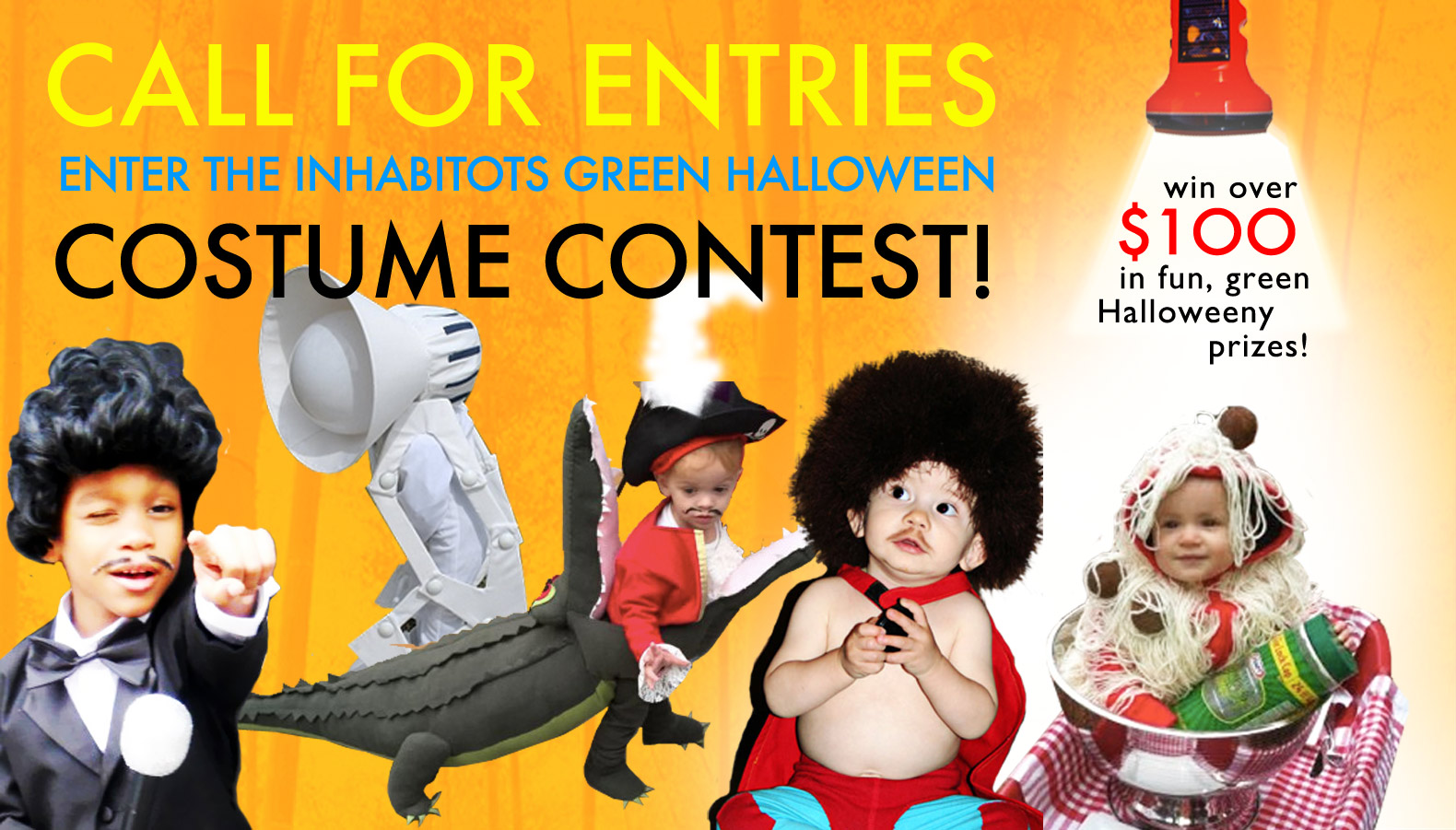 enter the inhabitots green halloween costume contest to win over 100 in prizes