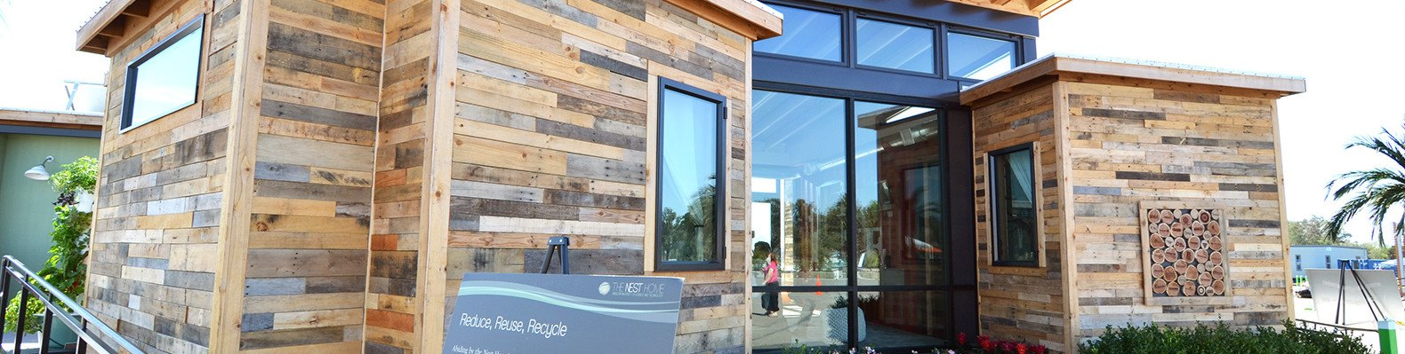The Nest home is a solar-powered prefab made from recycled shipping ...