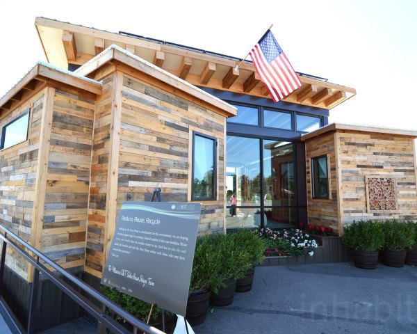 The Nest Home, Missouri University, Solar Decathlon, solar design, solar power, photovoltaics, net-zero house, shipping containers, shipping pallets, reused materials, reclaimed meterials, green architecture, affordable housing, green lighting, greywater reuse