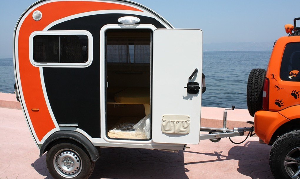 7 Of The Best Tiny Campers For A Fabulous Fall Road Trip