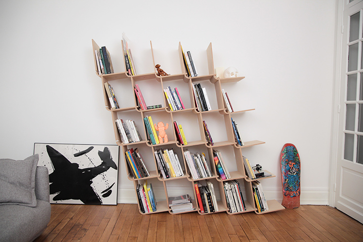 Amazing If Youu0027re Constantly Running Out Of Shelf Space For Your Books, Youu0027ll Love  The L Shelf, A Modular Shelving System Designed By Aurélien Veyrat Of The  French ...