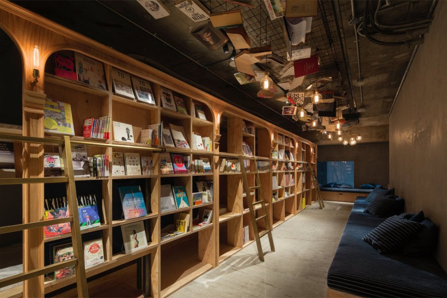 book and bed, tokyo, japanese hostel, bookstore-inspired hostel, bookstore-inspired hotel, hostel for book lovers