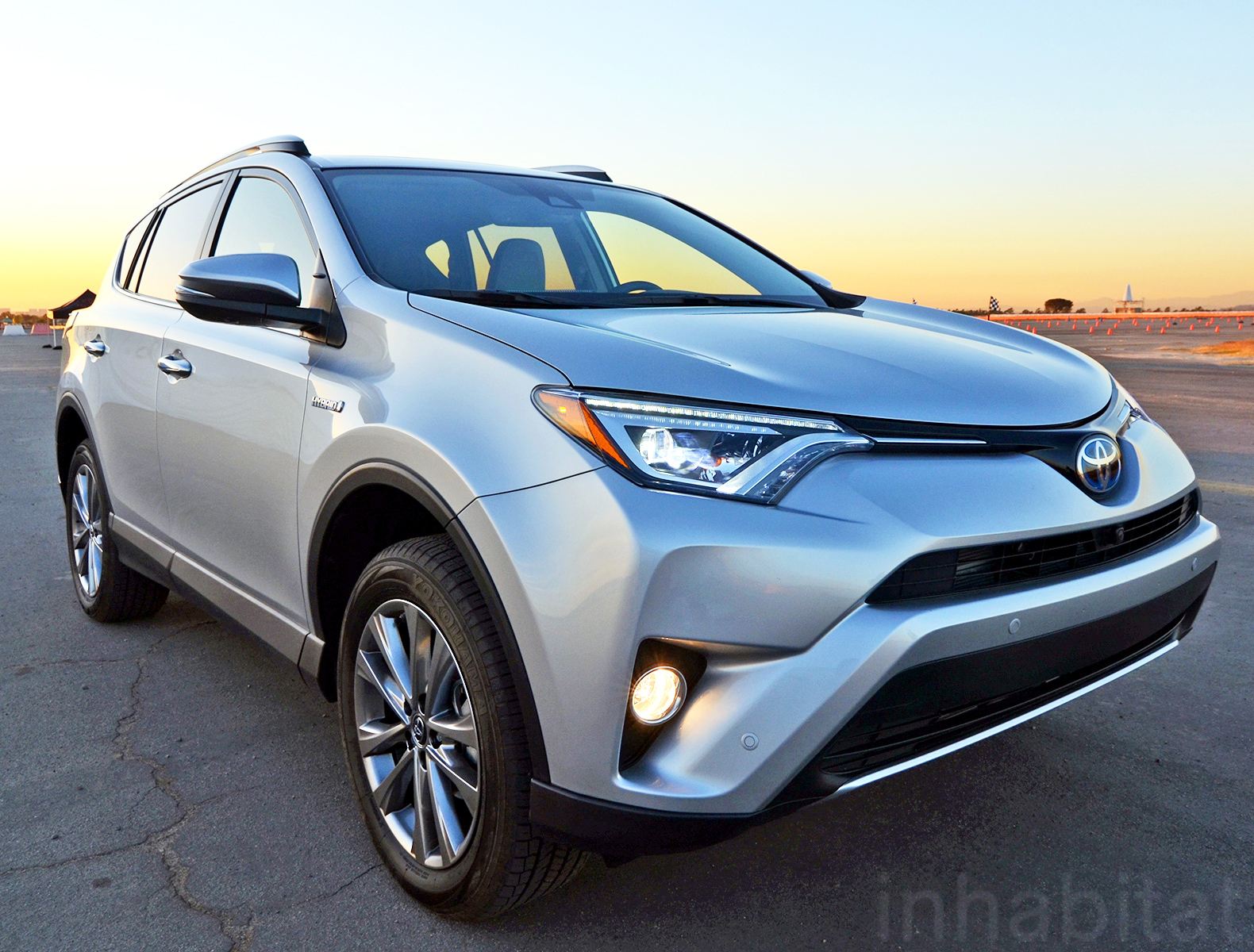 the 2016 toyota rav4 hybrid is faster more powerful and more efficient than its non hybrid. Black Bedroom Furniture Sets. Home Design Ideas