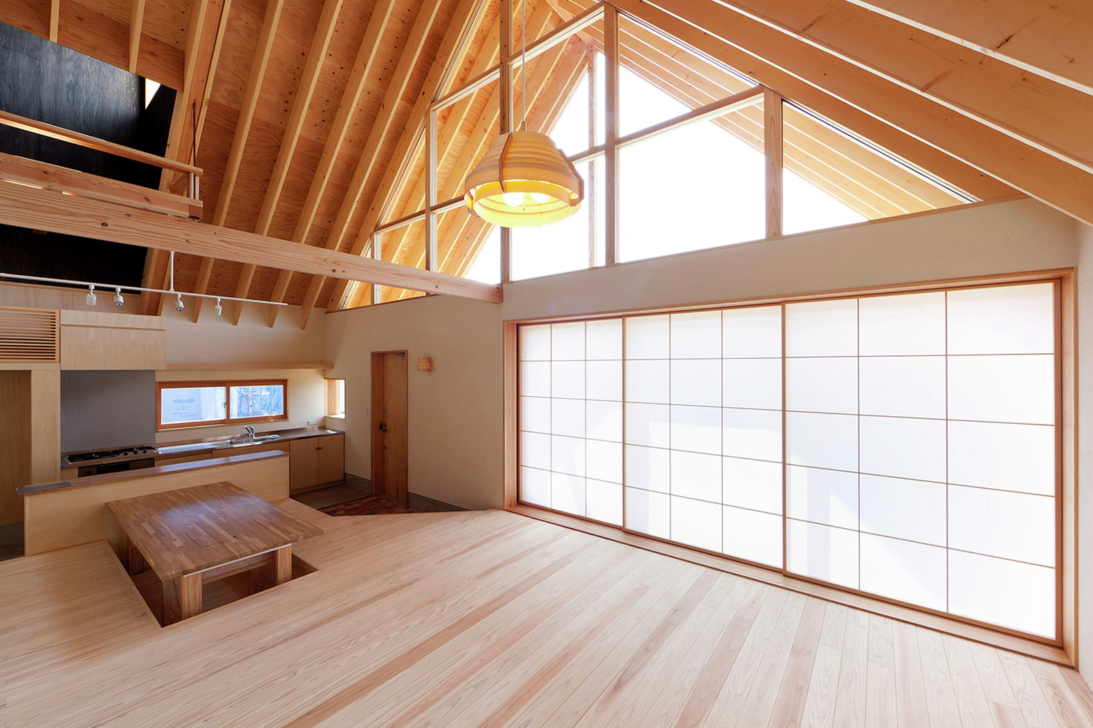 Charming Timber Home In Japan Features An African Inspired
