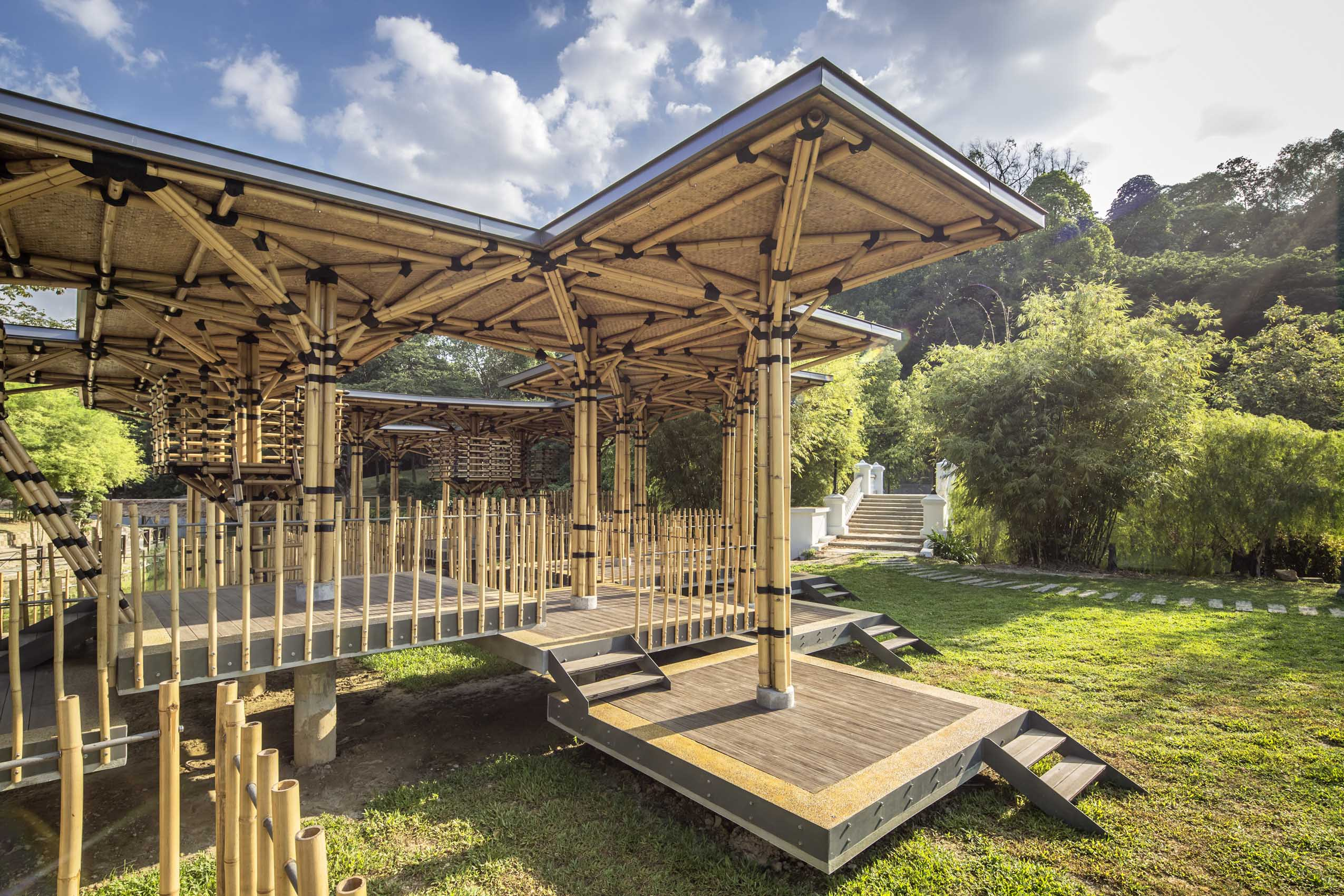 Sustainable Bamboo Playhouse Is A Gorgeously Green