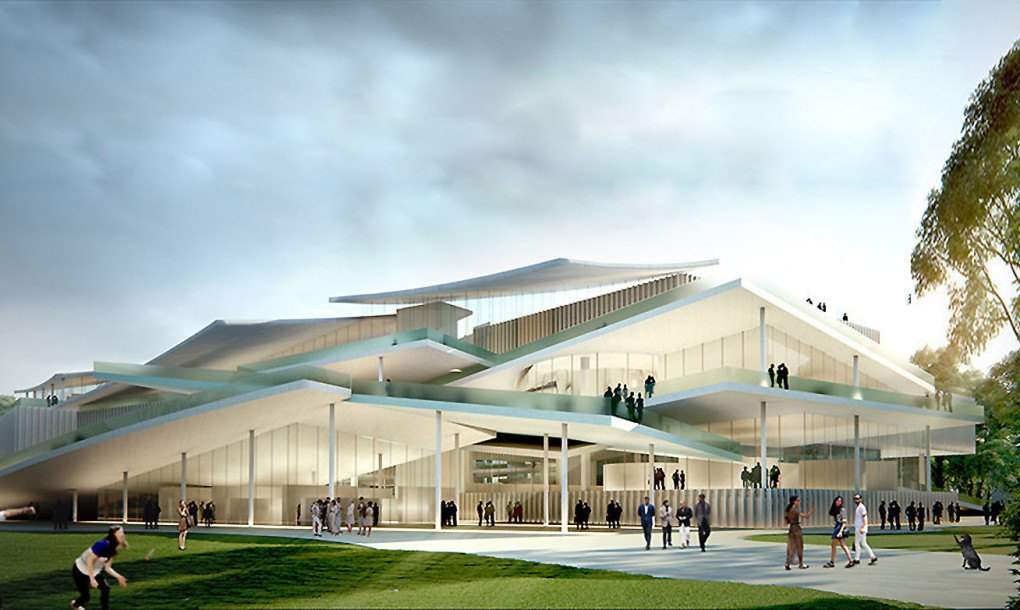 Sanaa S Layered Design Proposal Wins The Budapest Gallery