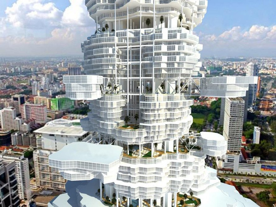 Cloud City by Union of Architects of Kazakhstan ...
